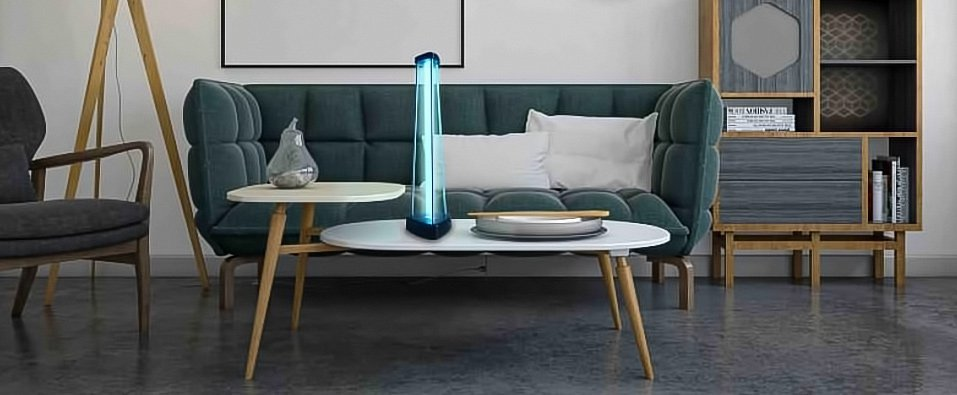 lounge UVC lamp